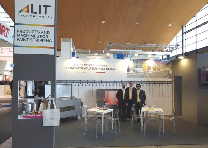 PaintExpo 2018 Alit Technologies team