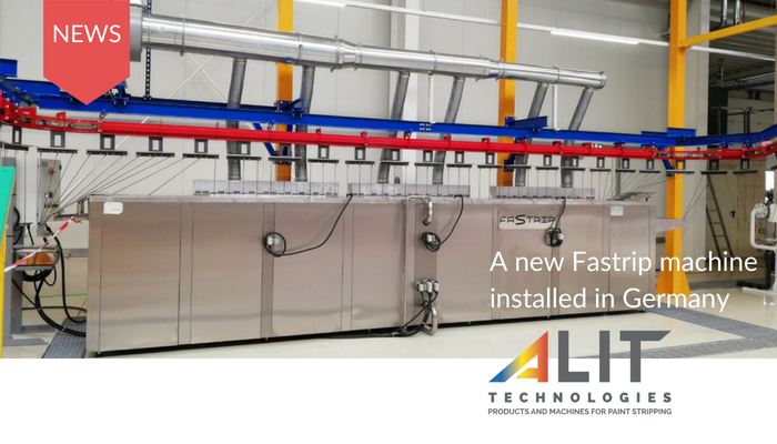 Fastrip in-line paint stripping machine by Alit