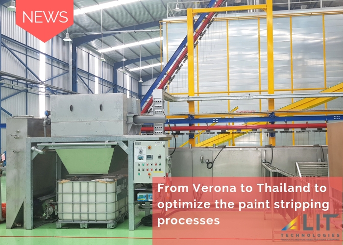 From Verona to Thailand to optimize the paint stripping processes