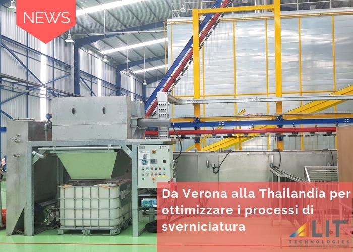 Da Verona alla Thailandia per ottimizzare i processi di sverniciatura
